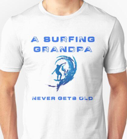 Surfing Grandpa T-Shirt