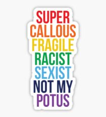 Not My Potus Sticker