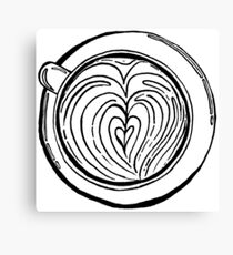 Cappuccino Lover Canvas Print