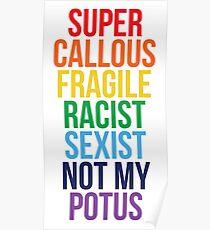 Not My Potus Poster