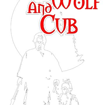 Lone Wolf and Cub by DudePal
