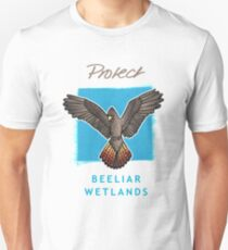 Protect Beeliar Wetlands - blue bgnd Unisex T-Shirt