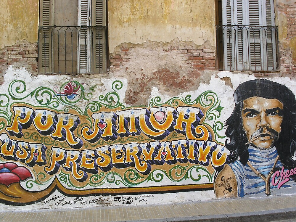 Che says For Love Use Condoms by Ezizza