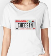 License Plate - CHEESIN Women's Relaxed Fit T-Shirt