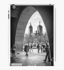 The Arch - National Gallery of Victoria, Melbourne iPad Case/Skin