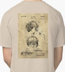 Antique Welders Goggles blueprint drawing, 1938 industrial Classic T-Shirt