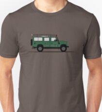 A Graphical Interpretation of the Defender 110 Station Wagon Blaser Edition Unisex T-Shirt