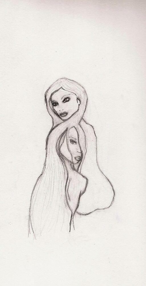 Two Girls by yasmine