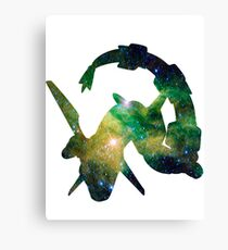 Rayquaza used Dragon Pulse Canvas Print