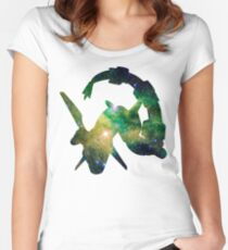 Rayquaza used Dragon Pulse Women's Fitted Scoop T-Shirt