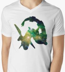 Rayquaza used Dragon Pulse Men's V-Neck T-Shirt
