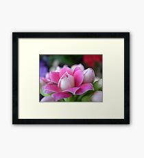"""Courage""  Fight Against Breast Cancer Framed Print"