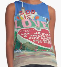 Salvation Mountain  Contrast Tank