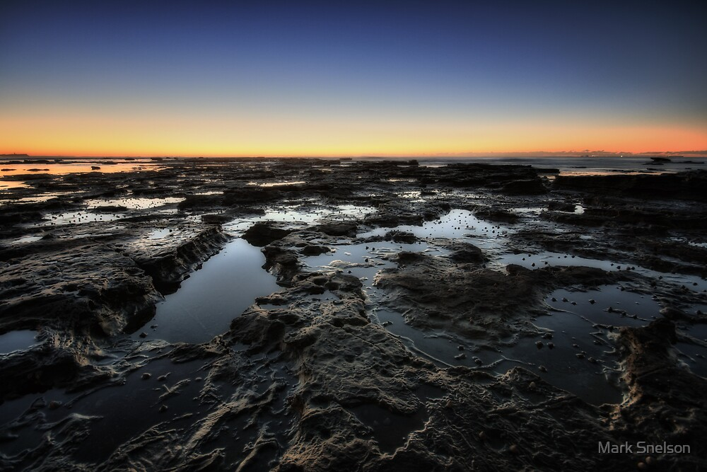 Cowrie Hole at Dawn 5 by Mark Snelson