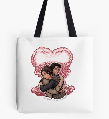 Love in Space Tote Bag