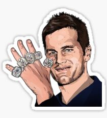 Tom Brady - Greatest of All Time Sticker