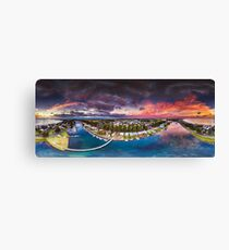 Moyne River Sunrise Canvas Print
