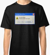 Error Message Classic T-Shirt