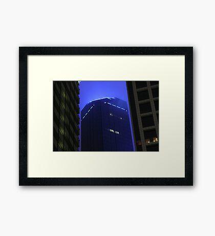 Fog 2 Framed Print