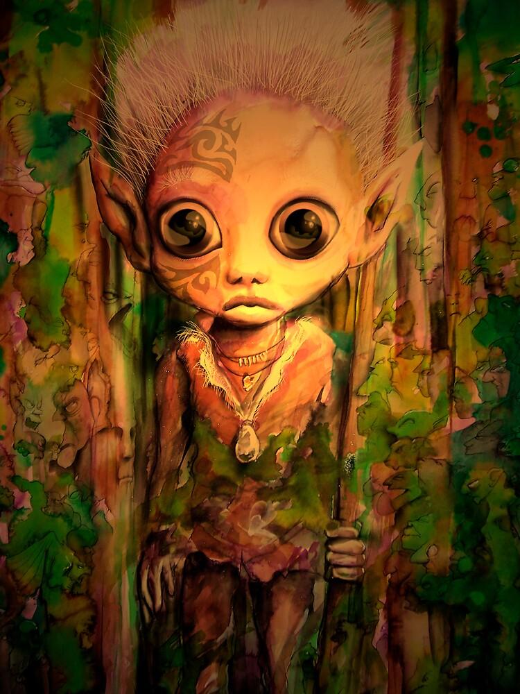 elf boy by Scott Dall