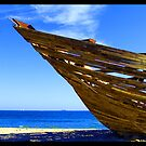 Wrecked St Kilda Beach 2006  by Christine Wilson