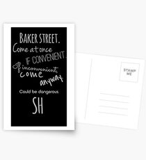 Sherlock (Come Anyway) Postcards