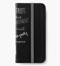 Sherlock (Come Anyway) iPhone Wallet/Case/Skin