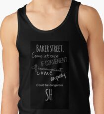 Sherlock (Come Anyway) Tank Top