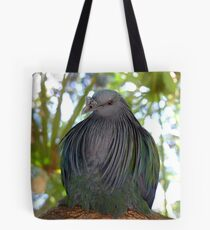 I Have A Designer Shawl - Nicobar Pigeon - South Africa Tote Bag