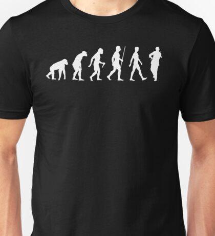 Evolution Violin Player Unisex T-Shirt
