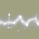 City skyline multiply alienated by Achim Casties