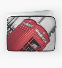 London Red Telephone Booth Laptop Sleeve