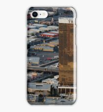Aerial view of Trump International Hotel Las Vegas, Nevada, USA iPhone Case/Skin