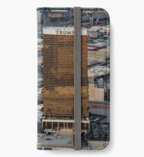 Aerial view of Trump International Hotel Las Vegas, Nevada, USA iPhone Wallet/Case/Skin