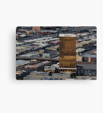 Aerial view of Trump International Hotel Las Vegas, Nevada, USA Canvas Print