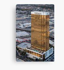 Aerial view of Trump International Hotel Las Vegas, Nevada, USA Canvas Print