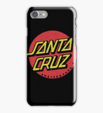Santa Cruz 'worn out' logo iPhone Case/Skin
