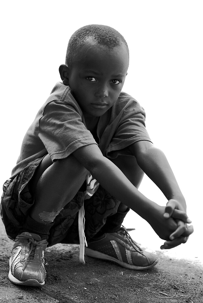 street boy northern rwanda by Melinda Kerr