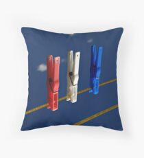 Again with the pegs... Throw Pillow