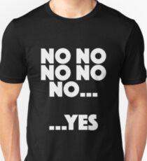 Vicar of Dibley - No No No… …Yes Unisex T-Shirt