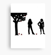 Swan Queen Canvas Print