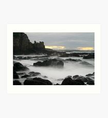 Cathedral Rocks Art Print