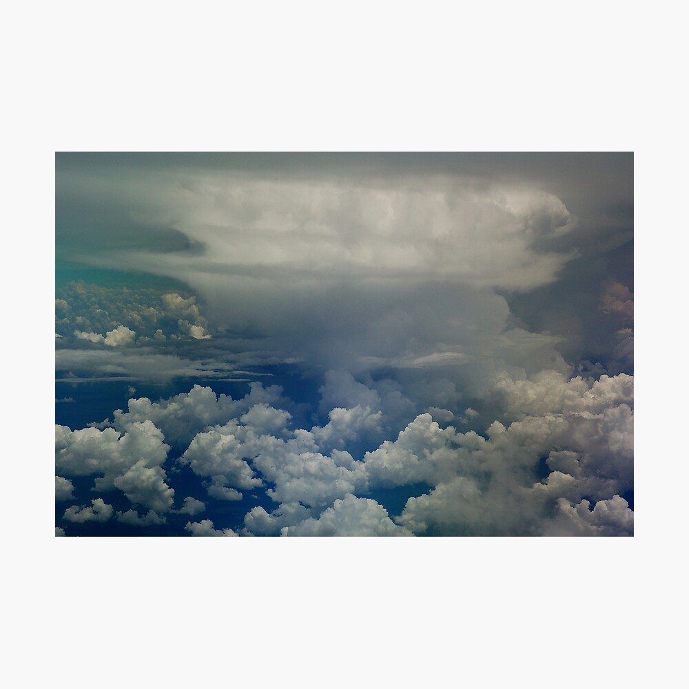 Atomic storm Photographic Print