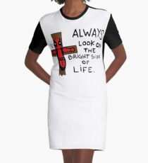 The Life Graphic T-Shirt Dress