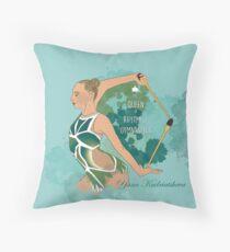 Yana Kudriatsheva art Throw Pillow