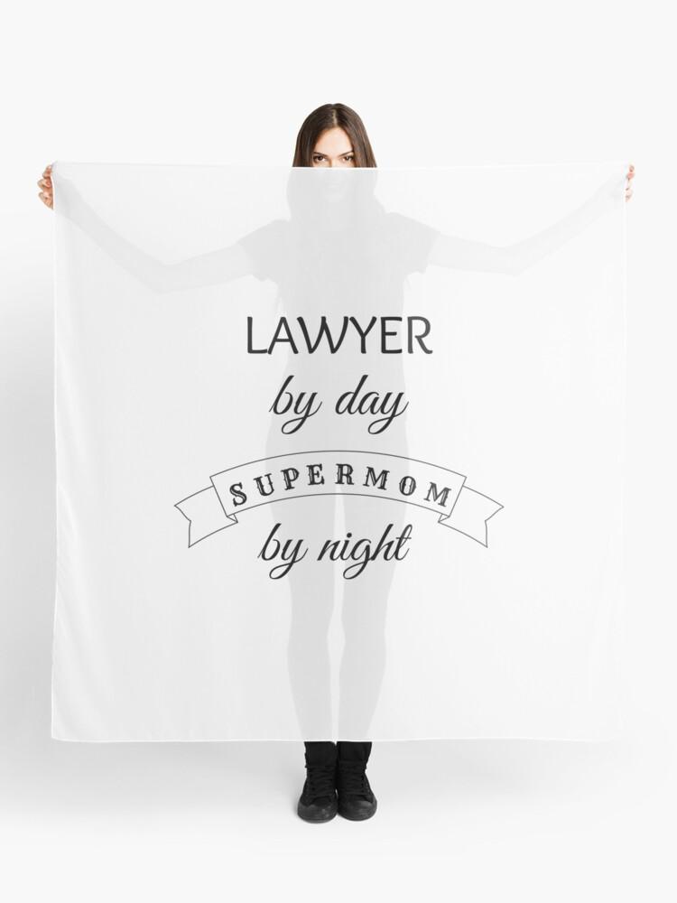 Supermom Lawyer - Ideal Birthday, Valentines, Mardi Gras, St. Patrick's Day,