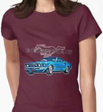 Mustang Womens Fitted T-Shirt