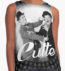 Laurel And Hardy Cult Sleeveless Top