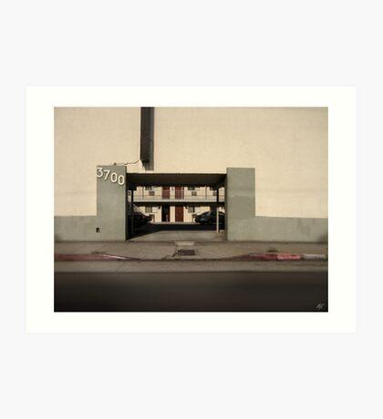 LA Minimal Art Print