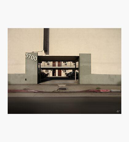 LA Minimal Photographic Print